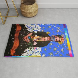 Frida Blue Wings to Fly 2020 Rug