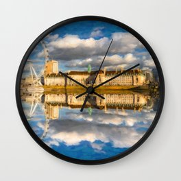 London Eye Art Wall Clock