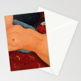 Amedeo Modigliani - Nu Couche - Digital Remastered Edition Stationery Cards