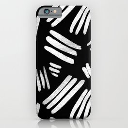 Monochrome Texture iPhone Case