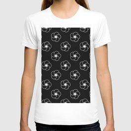 Beautiful Pattern #34 White flowers T-shirt