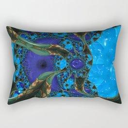 The Eye of Ishtar of the Living Jade Rectangular Pillow