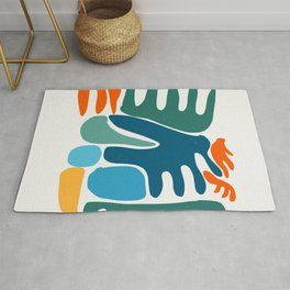 Spring Colors Joyful Art Pattern Abstract Rug