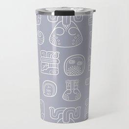 Picto-glyphs Story Travel Mug