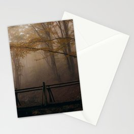 Small wooden bridge Stationery Cards