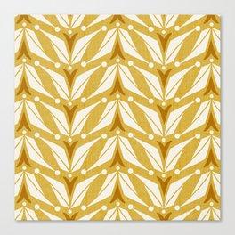 Tulipa - Goldenrod Yellow Canvas Print