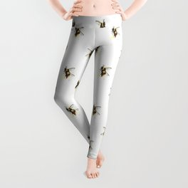 Bumblebee pattern Leggings