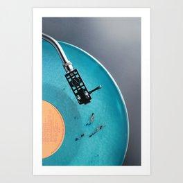 Vinyl in VR Kunstdrucke