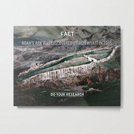 [Fact] Noah's Ark Metal Print