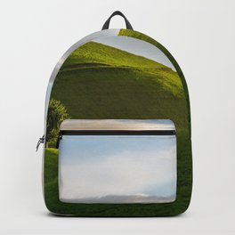 One Tree Hills, Ireland, Springtime, Emerald Isles Photograph Backpack