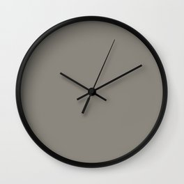 Simply Solid - Middle Grey Wall Clock
