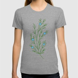 Abstract Juniper Branch | Embroidery Pattern | Botanical T-shirt