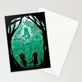 Gravity Falls - Face your Villains Stationery Cards