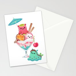 Mollusk cocktail Stationery Cards