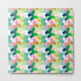 Multi-colored butterflies. Metal Print