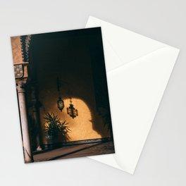 Moorish shadows Stationery Cards