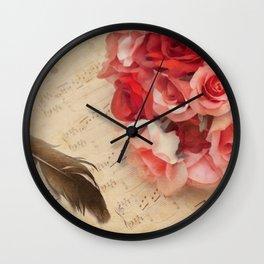 Adagio Sostenuto Wall Clock