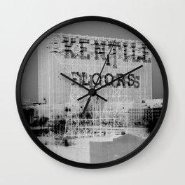 Kentile Floors BKLYN Wall Clock