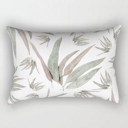 Eucalyptus Leaves Pattern Rectangular Pillow