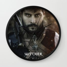 Witcher Wall Clock