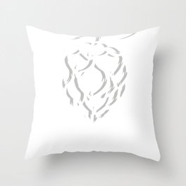 Hops Nature Beer Craft Brew Brewery Gift Throw Pillow