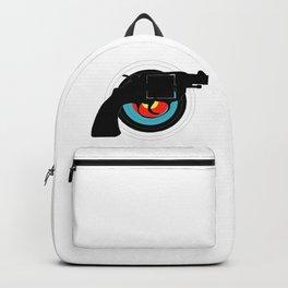 Hand Gun Target Backpack
