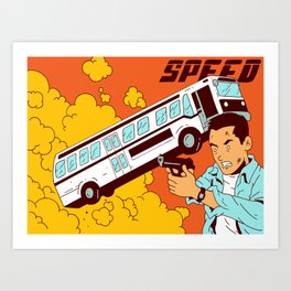 Speed Art Print