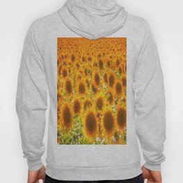 Sunflower Abstract Dreams Hoody