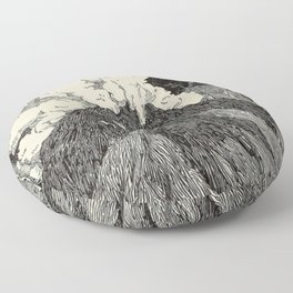 Naturalist Volcano Floor Pillow