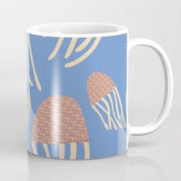 Jellyfish Illustration, Underwater Series Coffee Mug