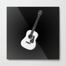 Bass Guitar Bass Player Metal Print