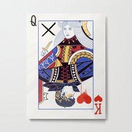 The Queen of Nothing Metal Print