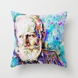 George Bernard Shaw 2. Throw Pillow