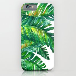 tropical green 2 iPhone Case