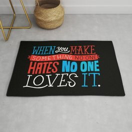 No One Loves It. Rug