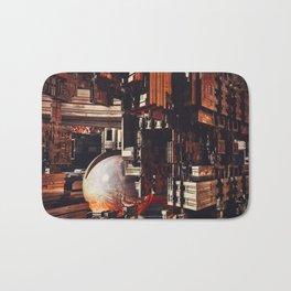 Asimov city byJean-François Dupuis Bath Mat