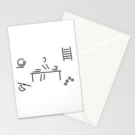 massage physiotherapist Stationery Cards