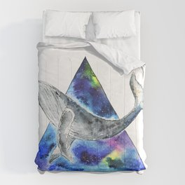 Galaxy Whale Comforters