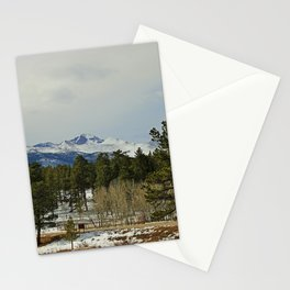 In the Rocky Mountains VII Stationery Cards
