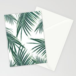Green Palm Leaves Dream #2 #tropical #decor #art #society6 Stationery Cards