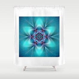 Mandala of Serenity Shower Curtain