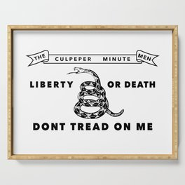 Culpeper Minutemen Flag Serving Tray