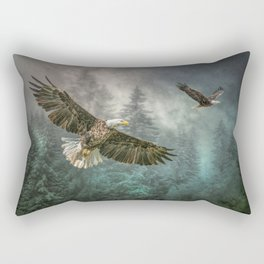 Valley of the eagles Rectangular Pillow