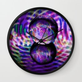 Frosted Wall Clock