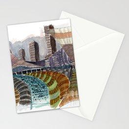 Meandering Landscapes: November Train Stationery Cards