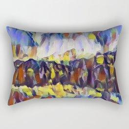 Abstract 4 Rectangular Pillow
