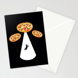 Pizza UFO Stationery Cards