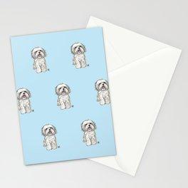 Maltese lover option 2 Stationery Cards