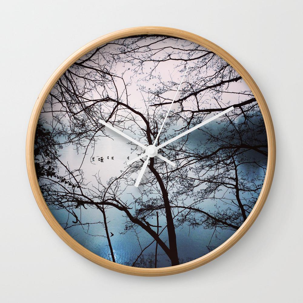 Thin Ice Wall Clock by Nogerrelson CLK7599077