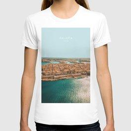 Valletta, Malta Travel Artwork T-shirt